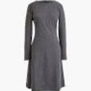 J Crew knit Fit & Flare dress- A-line #J7130